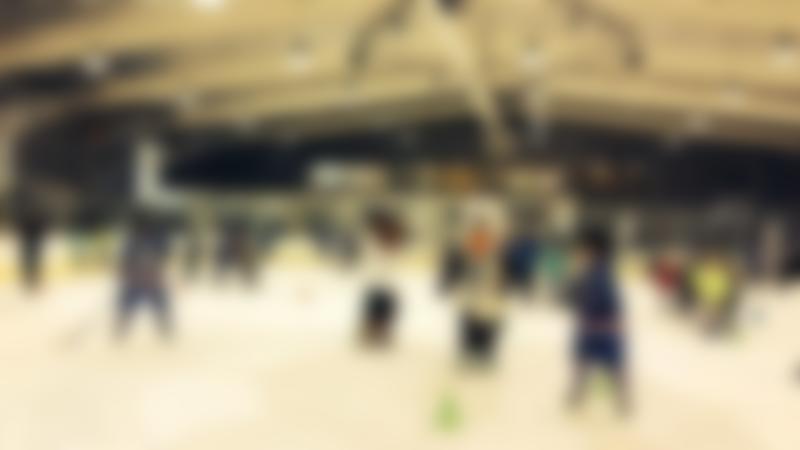 Ice hockey training at Dumfries Ice Bowl