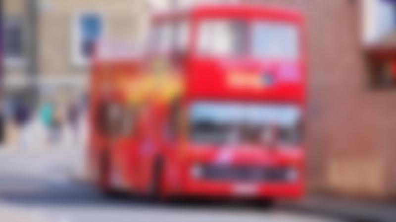 City Sightseeing Cambridge Hop on Hop off Tour bus