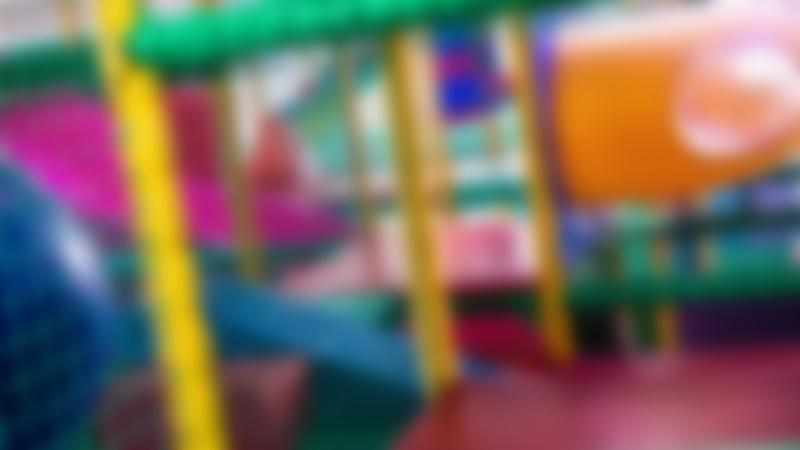 Inside soft play frame at Monkeyhouse Softplay in Wallasey