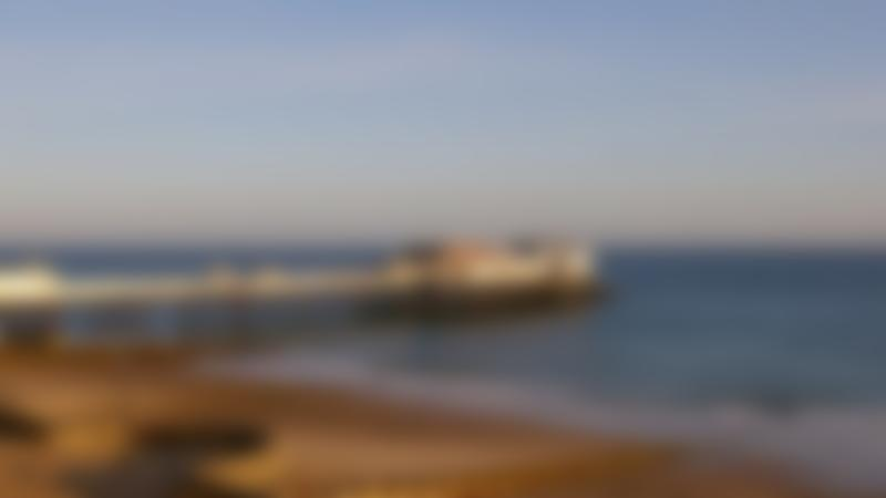 A view of Cromer Pier at Cromer Beach, Cromer