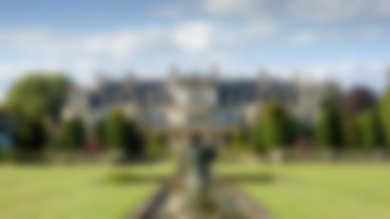 The house at Dyffryn Gardens in the summer in St Nicholas