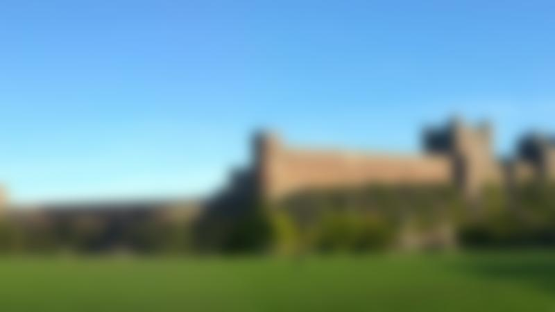 Outside view of Bamburgh Castle
