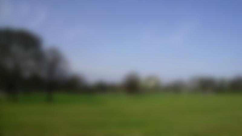 Open field at Ravenscraig Park in Kirkcaldy