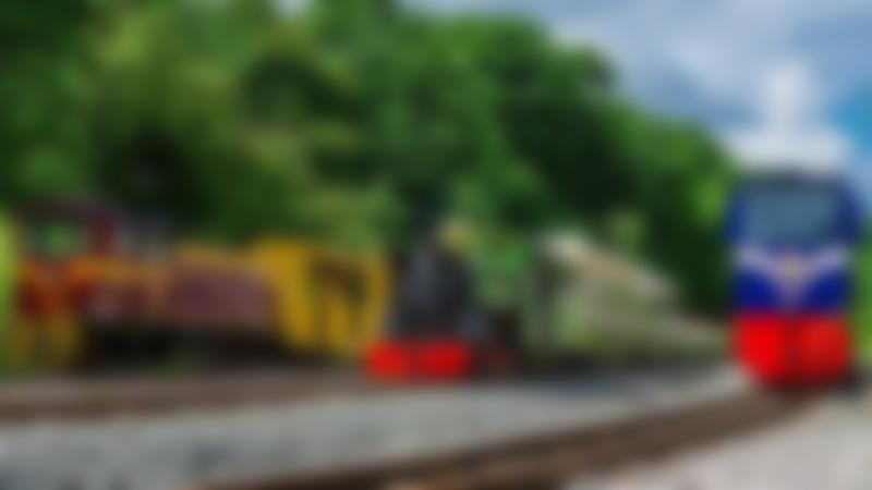 Trains at The Ruislip Lido Railway
