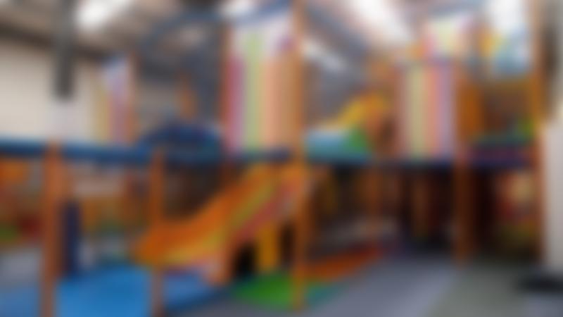 Indoor soft play frame at Kids n Action in Wokingham